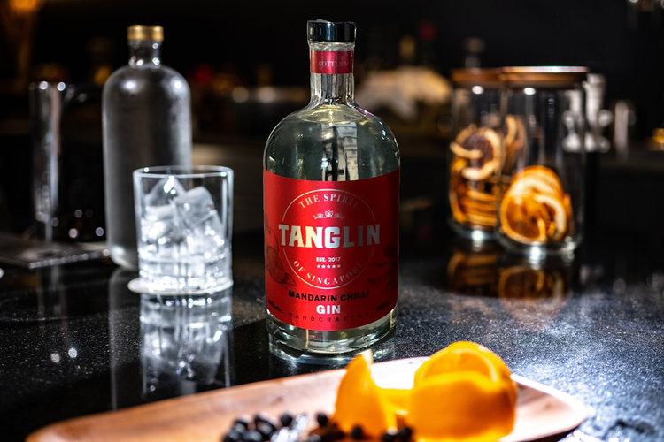 Tanglin Mandarin Chili Gin