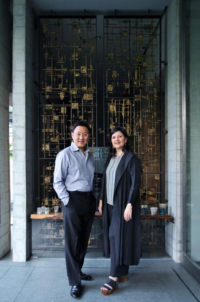 Wow Architects Wong Chiu Man and Maria Warner Wong