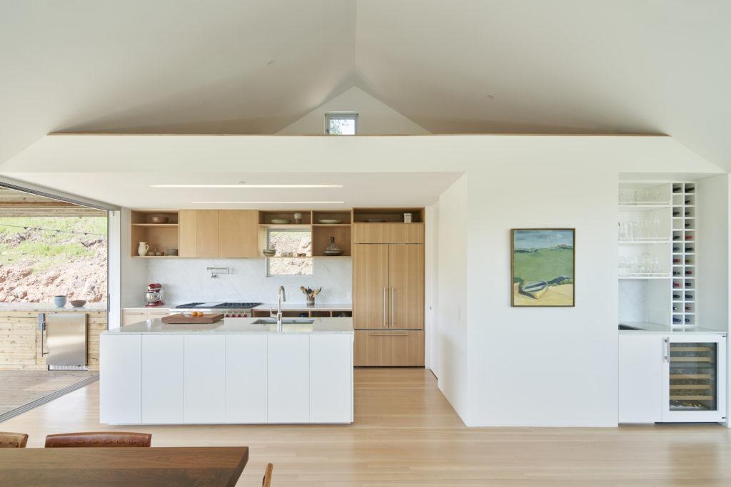Triple Barn House interiors
